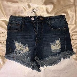 Fashion Nova Denim Daisy Duke Shorts